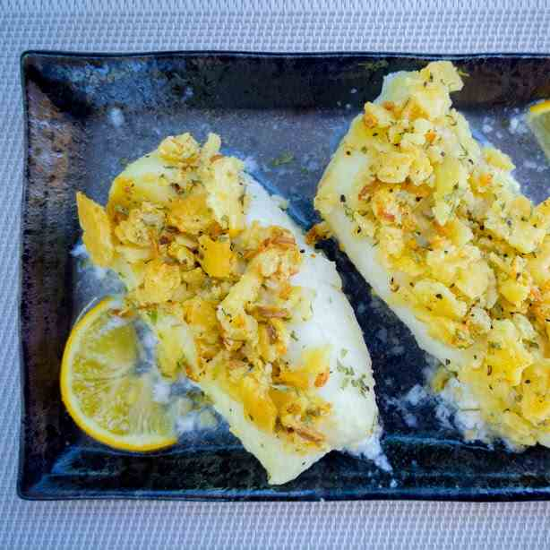 Cracker Crusted Cod Fillet