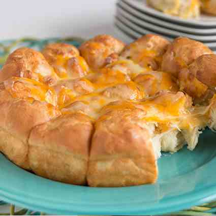 Pepper Jack And Cheddar Rolls