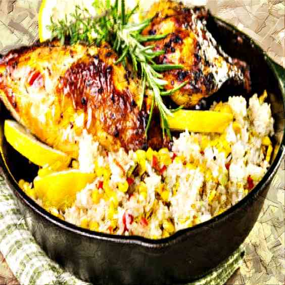 Lemon Chicken - Vegetables