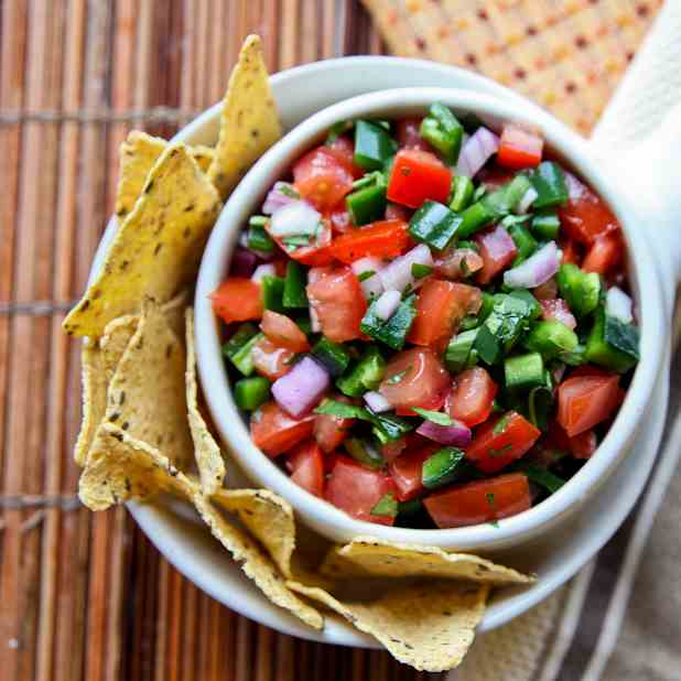 Chipotle Restaurant Salsa