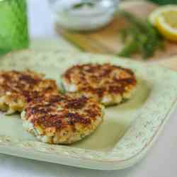 Salmon Dill Cakes