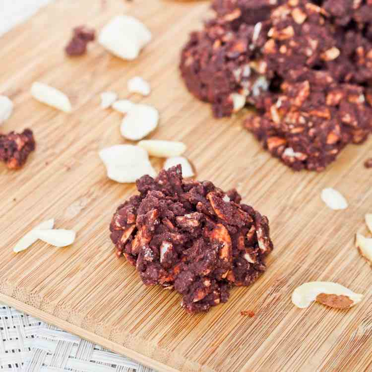 Almond Chocolate Nut Clusters