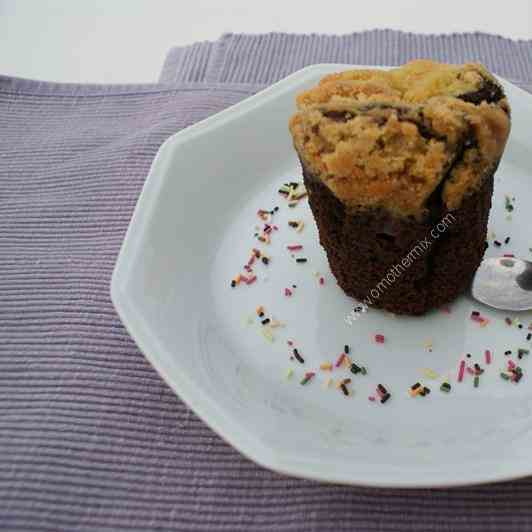 Thermomix Pear Chocolate Muffin