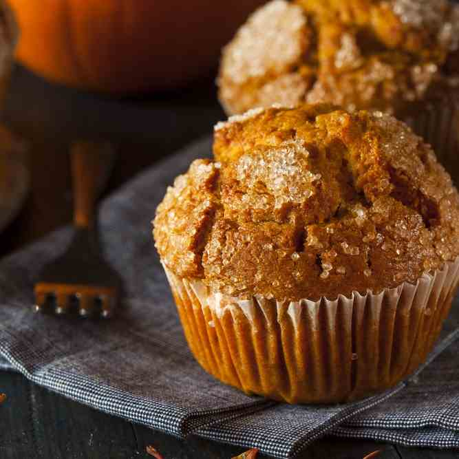 Paleo Pumpkin Muffins in the Air Fryer