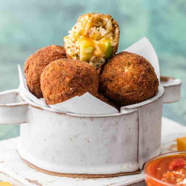 Bacon Broccoli Cheese Arancini
