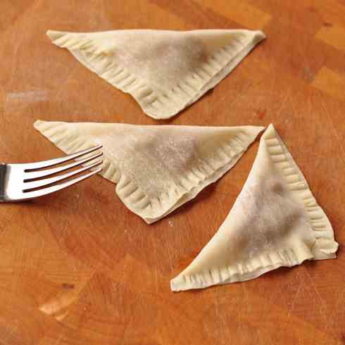 Easy pumpkin ravioli