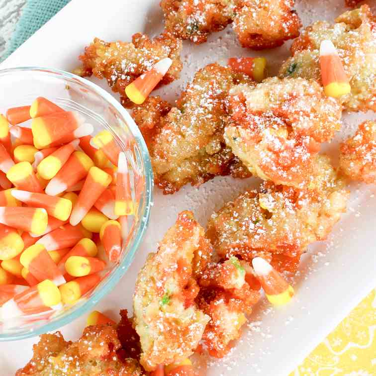Funfetti Fried Candy Corn