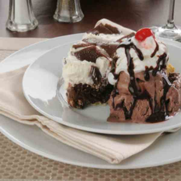 Mexican Chocolate Ice Cream Pie