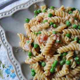 Rotini, Peas and Cheese