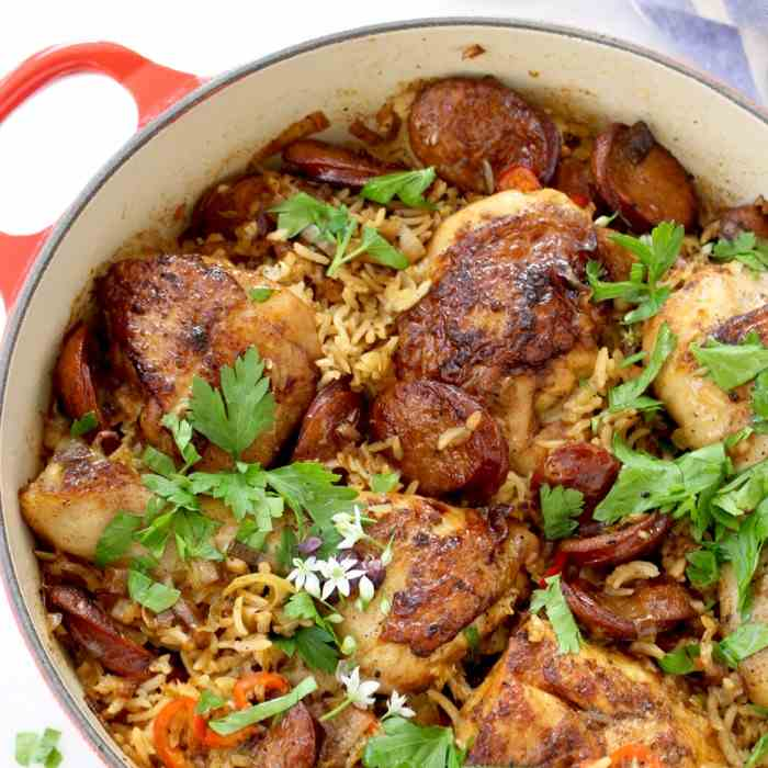 One Pot Chicken and Rice