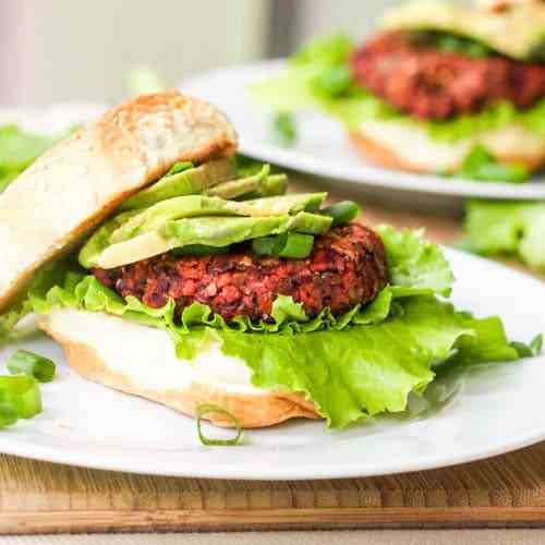 Superfood Vegan Veggie Burgers