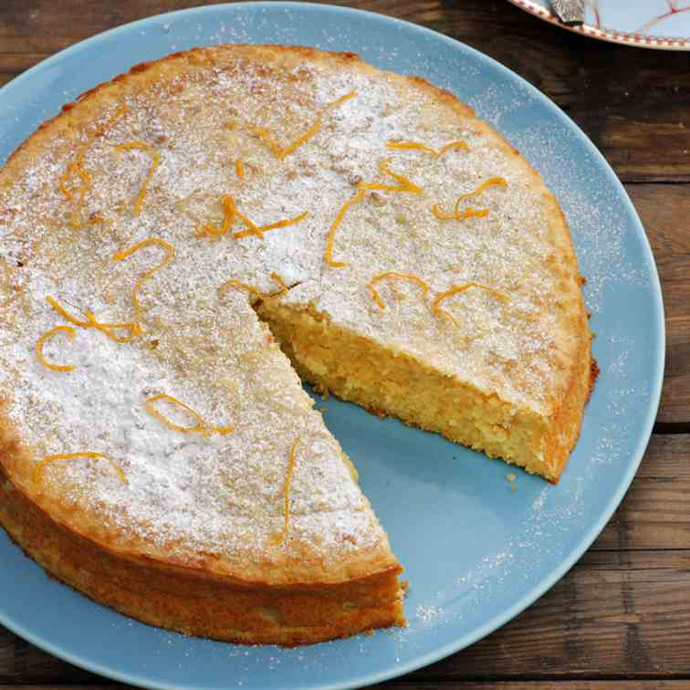 Orange and Ricotta Cake