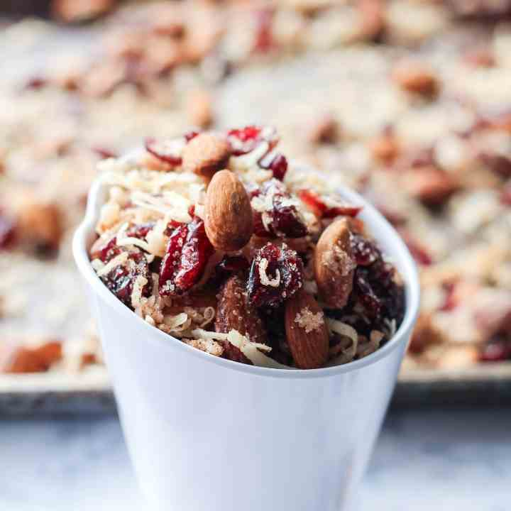 Coconut Almond Cranberry Trail Mix