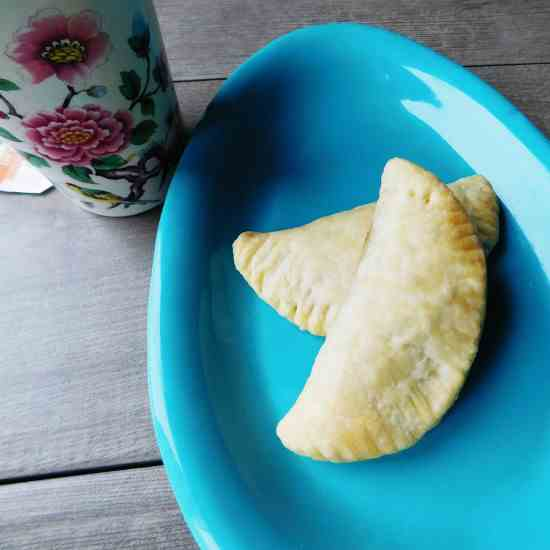 Strawberry - Sesame Hand Pies