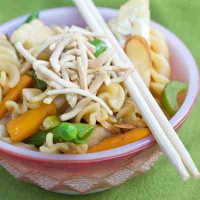 Asian Veggie Pasta