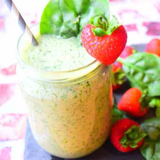 Spinach - Strawberry Smoothie