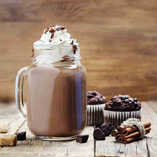 Adult Spiced Hot Chocolate