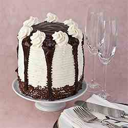 Really Tall Chocolate Layer Cake