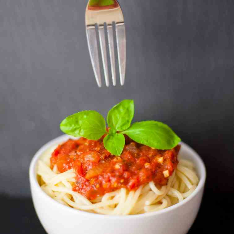Hearty Marinara Sauce