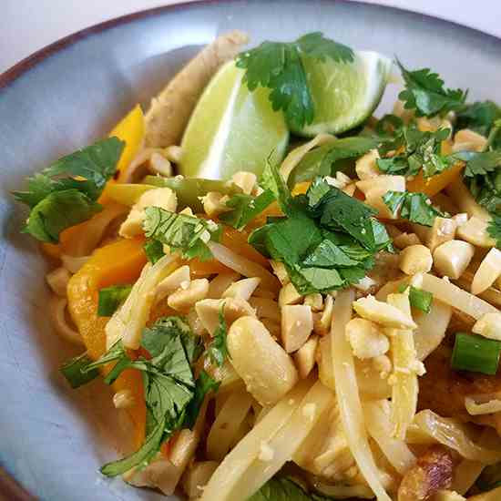 Fast and Delicious Pad Thai