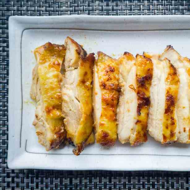Miso Marinated Chicken