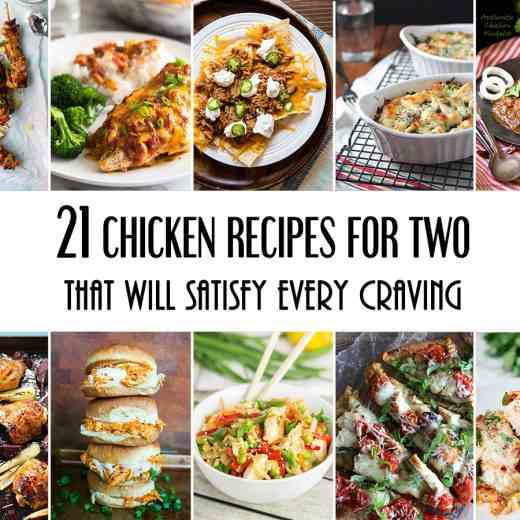 21 Chicken Recipes For Two