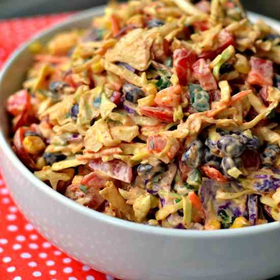 Easy Mexican Coleslaw