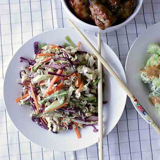 Asian Crunchy Noodle Salad