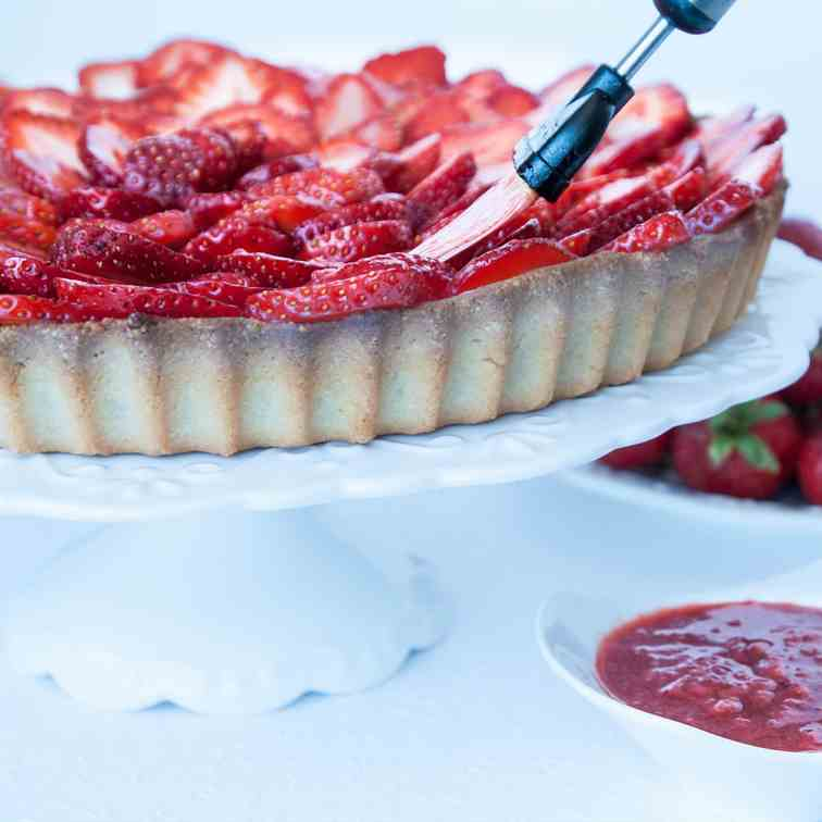 New Ingredients on Strawberry Tart