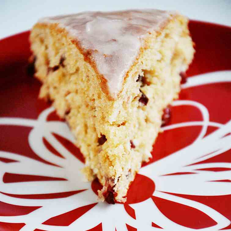 coconut cranberry cake