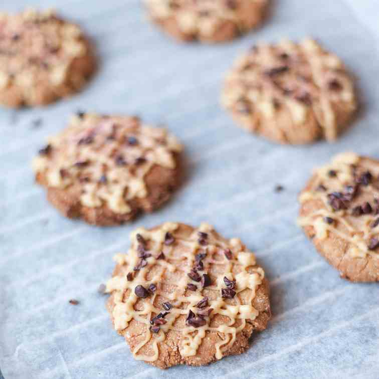 Almond - Coconut Goodness Cookies
