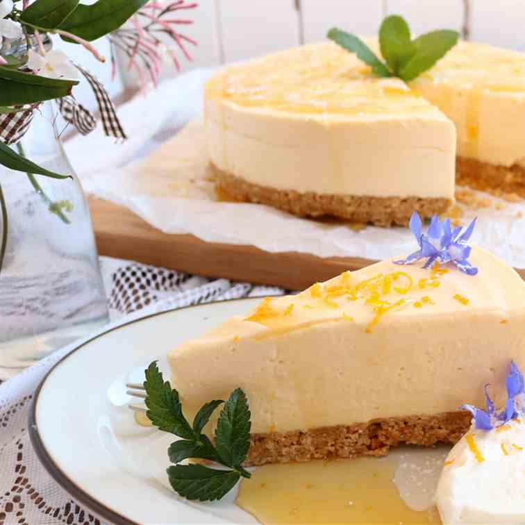 Lemon - Honey Cheesecake