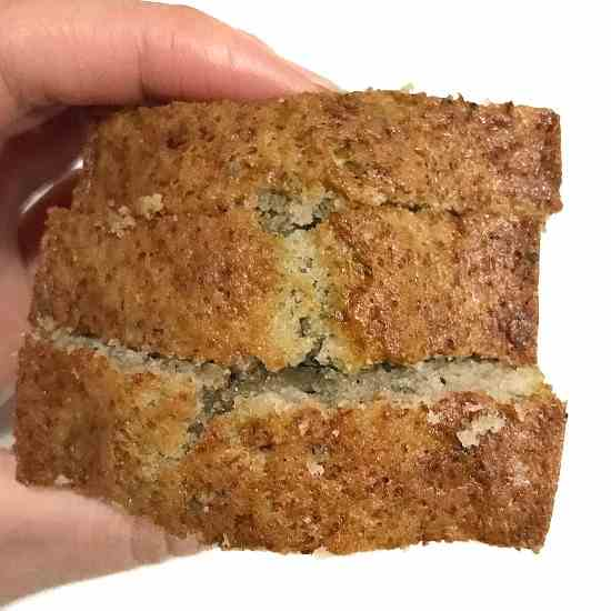 Moist Banana Poppyseed Bread