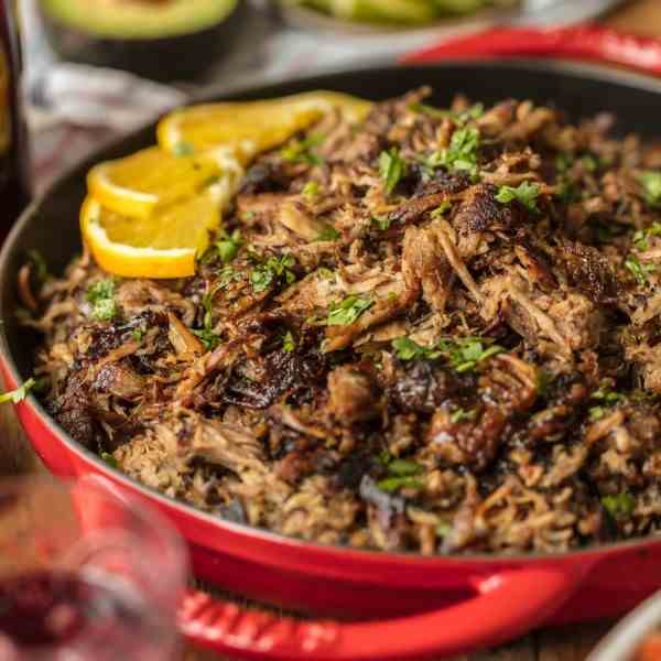 Sangria Pork Carnitas