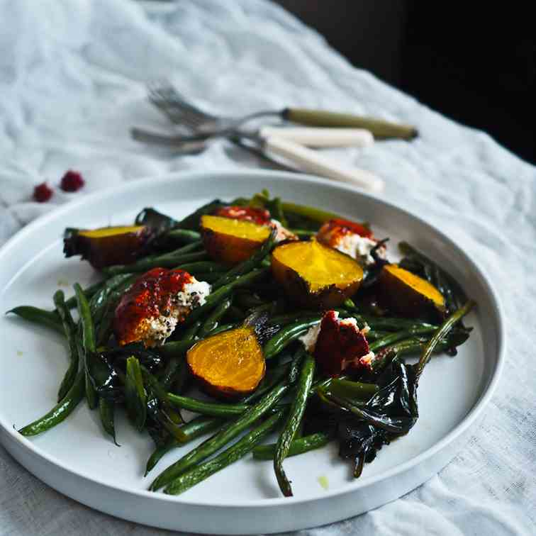 Autumnal Roasted Vegetable Salad