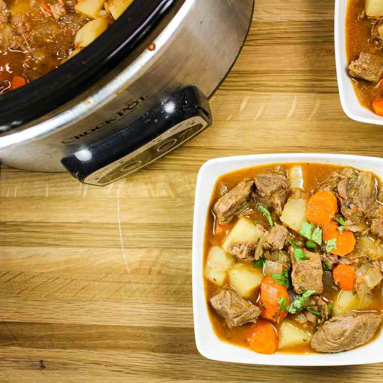 Slow Cooker Mexican Beef Vegetable Stew