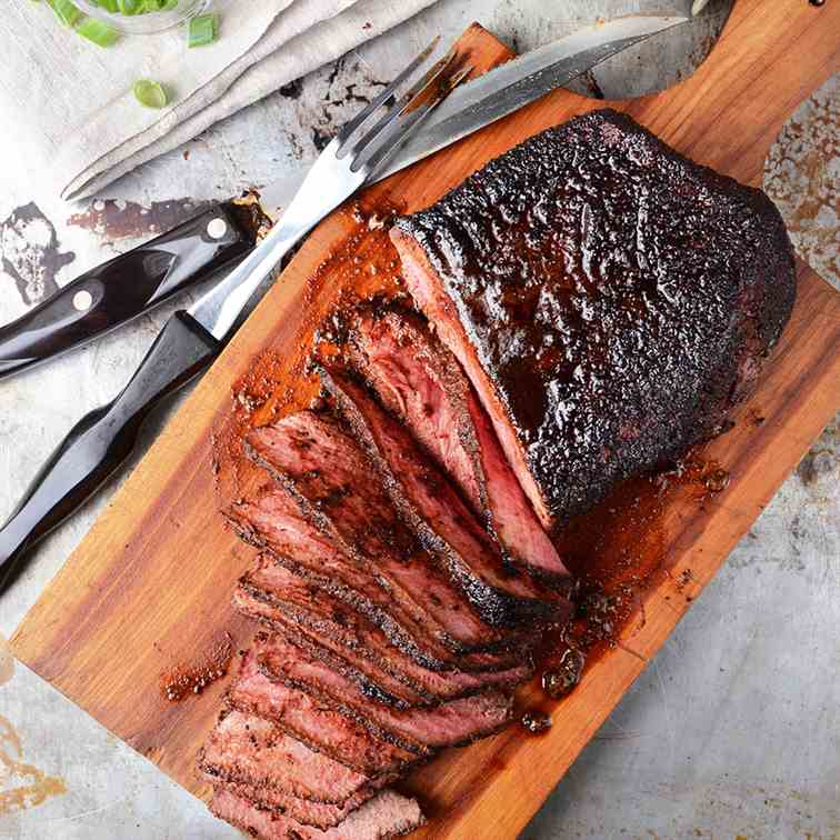 Coffee Rubbed London Broil