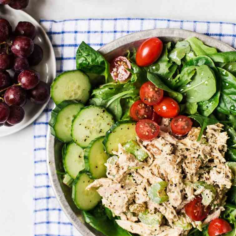Curried Chicken Salad Salad
