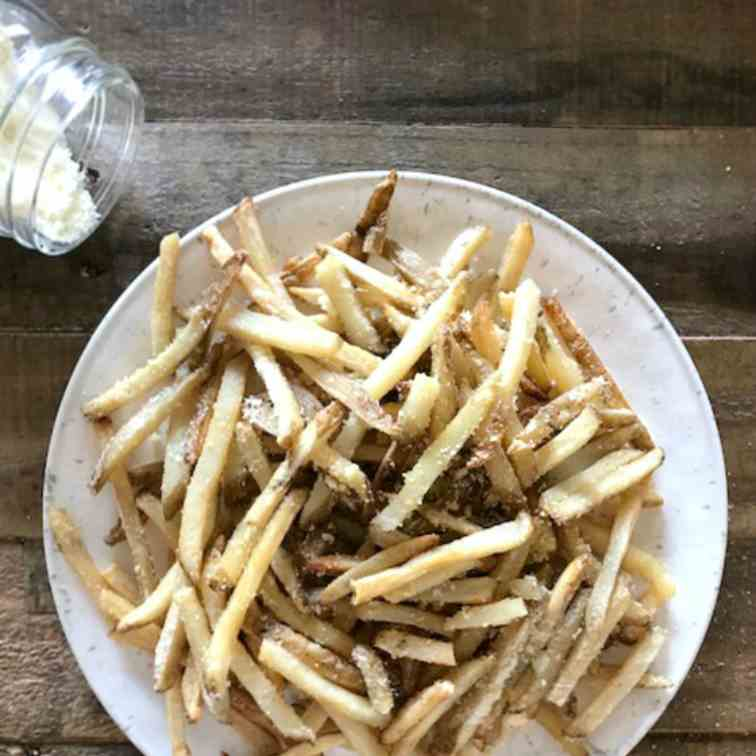 Parmesan Baked French Fries