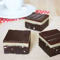 Marzipan Brownies