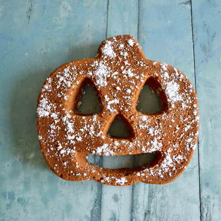 Spiced Pumpkin Gingerbread