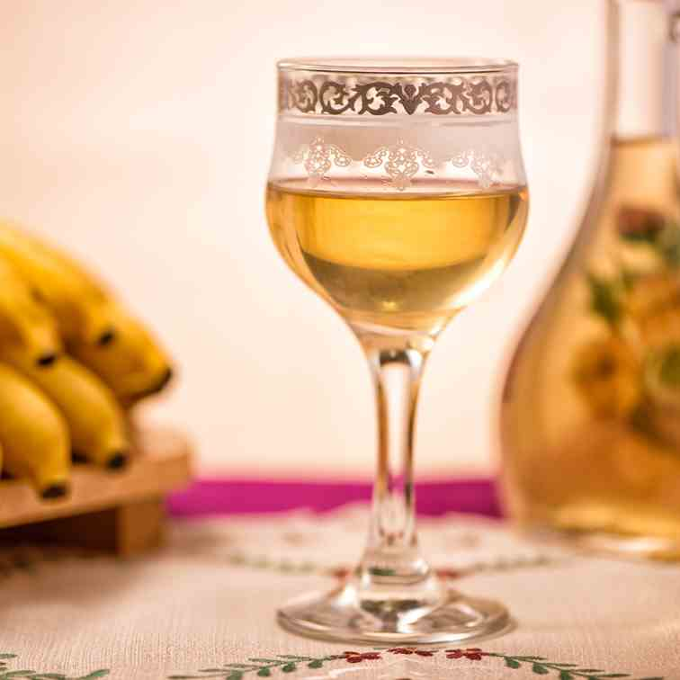 Banana Raisin Wine