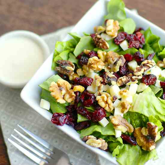 Cranberry & Walnut Salad