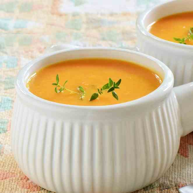 Slimming World Carrot - Coriander Soup