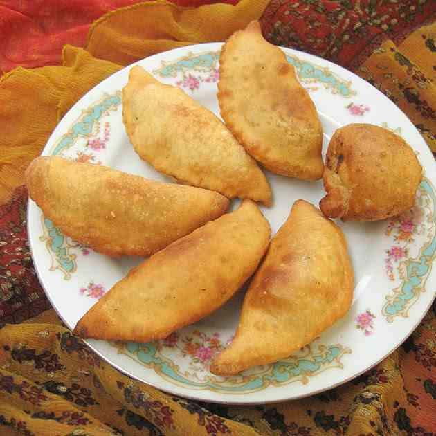 Coconut and Khoya Pastries
