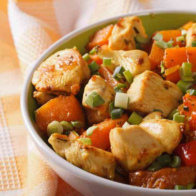 Slow Cooker Paleo Turkey - Vegetable Hash