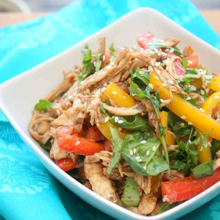 Balsamic Tomato Chicken Salad