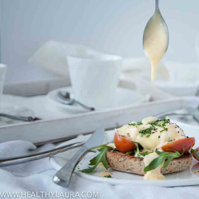 Eggs Benedict with Homemade Holland