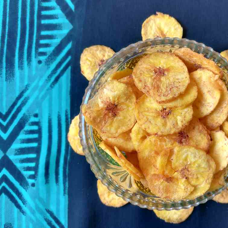 banana chips recipe - homemade kerala bana