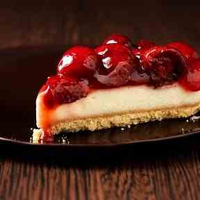 Low Calorie Strawberry Cheesecake